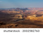 Green River Overlook in the Canyonlands National Park in Utah, USA