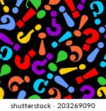 abstract seamless background... | Shutterstock .eps vector #203269090