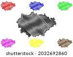 marburg biedenkopf district ... | Shutterstock .eps vector #2032692860