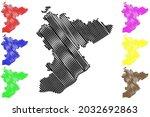 main taunus district  federal... | Shutterstock .eps vector #2032692863