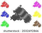 markisch oderland district ... | Shutterstock .eps vector #2032692866