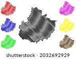 mecklenburgische seenplatte... | Shutterstock .eps vector #2032692929