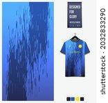 soccer jersey pattern design.... | Shutterstock .eps vector #2032833290