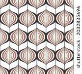 seamless geometric pattern.... | Shutterstock .eps vector #2032835696