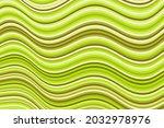 minimal curve wave stripes warp ... | Shutterstock .eps vector #2032978976
