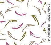 hand drawn seamless arrow... | Shutterstock .eps vector #2032978979