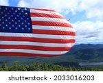 American Flag In The Adirondack ...