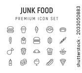 premium pack of junk food line...