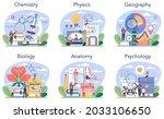 natural school subject or... | Shutterstock .eps vector #2033106650