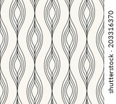 seamless hand drawn pattern.... | Shutterstock .eps vector #203316370