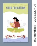 value of education and...   Shutterstock .eps vector #2033227409