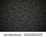 abstract hexagon black texture...   Shutterstock .eps vector #2033332229