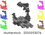 munich district  federal... | Shutterstock .eps vector #2033353076