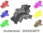 neckar odenwald kreis district  ... | Shutterstock .eps vector #2033353079