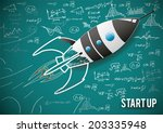 vector illustration concept of... | Shutterstock .eps vector #203335948