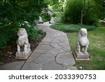 A Pathway Guarded By Two Lions...