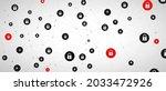 internet digital security...   Shutterstock .eps vector #2033472926