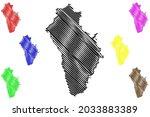 neu ulm district  federal... | Shutterstock .eps vector #2033883389