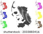 nordfriesland district  federal ... | Shutterstock .eps vector #2033883416