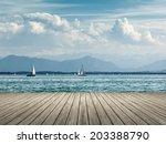 An Image Of Sailing At...