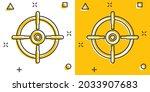 shooting target vector icon in...   Shutterstock .eps vector #2033907683