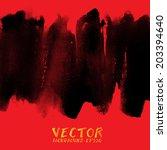Vector Of Watercolor Hand...