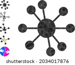 triangle node relations... | Shutterstock .eps vector #2034017876