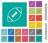 rugby ball outline multi... | Shutterstock .eps vector #2034030026