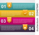 abstract paper infographic with ...