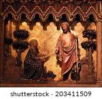 paris  france   nov 5  the... | Shutterstock . vector #203411509