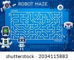 labyrinth maze game with...   Shutterstock .eps vector #2034115883