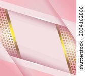 vector of gold stripes and dots ... | Shutterstock .eps vector #2034162866