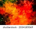 fantastic dark flame texture... | Shutterstock .eps vector #2034185069