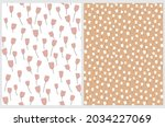 cute hand drawn floral vector...   Shutterstock .eps vector #2034227069