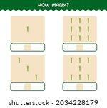 how many cartoon asparagus.... | Shutterstock .eps vector #2034228179