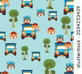 seamless pattern texture with...   Shutterstock .eps vector #2034253439