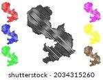 osnabruck district  federal... | Shutterstock .eps vector #2034315260