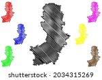 oberspreewald lausitz district  ... | Shutterstock .eps vector #2034315269