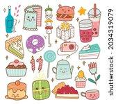 Birthday Food And Drink Kawaii...