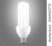 glowing led bulb isolated on... | Shutterstock .eps vector #2034423779
