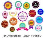 sales and promotional batches... | Shutterstock .eps vector #2034444560