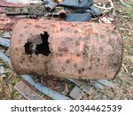 The Rusted Steel Tank Rotted...
