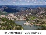 Aerial View Of Sylvan Lake And...