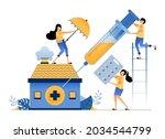 illustration of basic public...   Shutterstock .eps vector #2034544799