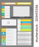 flat user interface kit