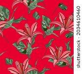 beautiful endless gentle floral ...   Shutterstock .eps vector #2034610460