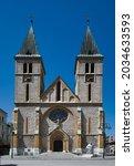 Sarajevo Cathedral. The Sacred...
