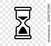hourglass sand stopwatch icon....