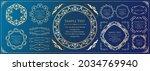 elegant design element set....   Shutterstock .eps vector #2034769940