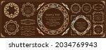 elegant design element set....   Shutterstock .eps vector #2034769943